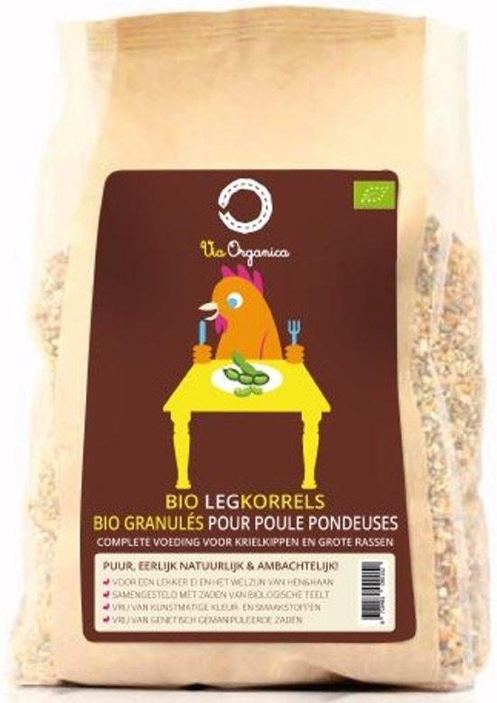 Bio Legkorrels 12,5kg - biologisch kippenvoer