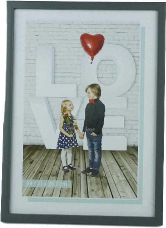 Bolcom Fotolijst Poster Frame Wissellijst Grijs A4 21 X