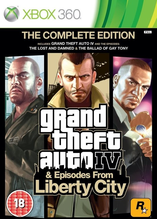 Grand Theft Auto IV (GTA IV) - Complete Edition - Xbox 360 (Compatible met Xbox One)