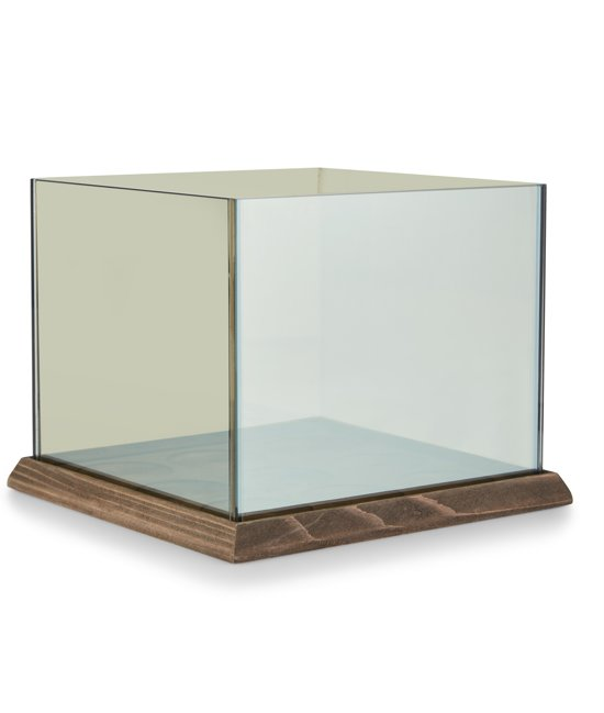 Lifa Living Waxinelichtjeshouder Infinity Light 9 Cube - Glas - Oneindige Verlichting