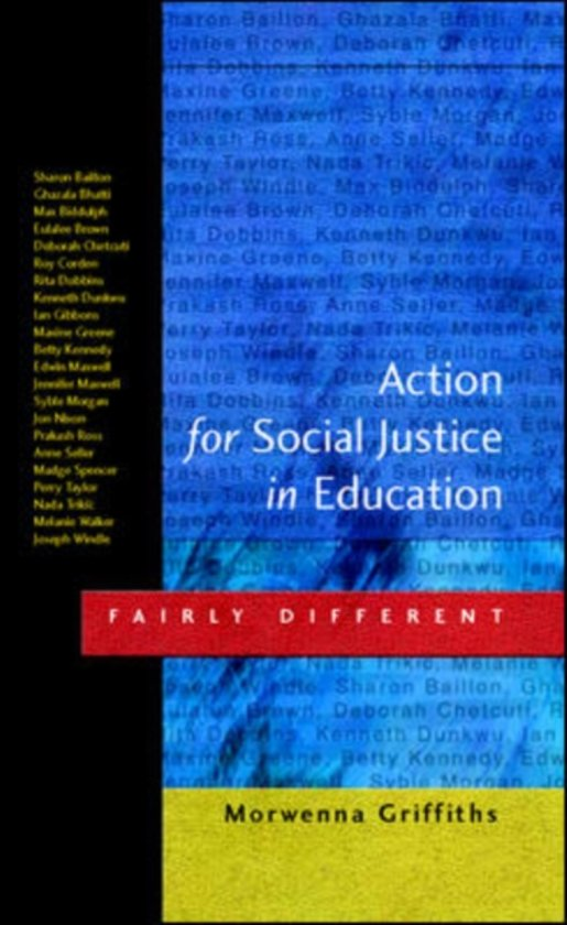 the role of education in society as explained in conells social justice in education Social justice is equal rights and opportunities in all aspects of society defining social justice is notoriously hard, since.