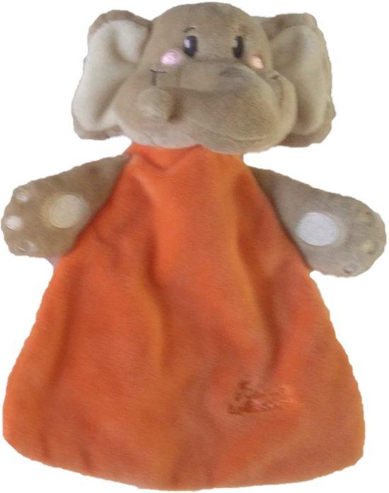 Knisperdoekje Tiamo Olifant Oranje