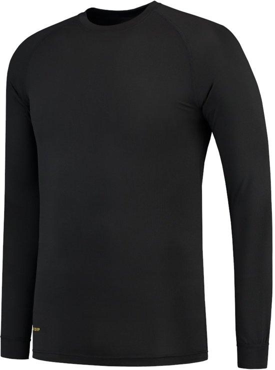 Tricorp Thermo-Shirt 602002 Zwart - Maat M