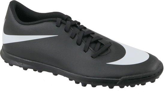 Nike BravataX II TF 844437 001, Mannen, Zwart, Kunstgrasschoenen maat: 45.5 EU