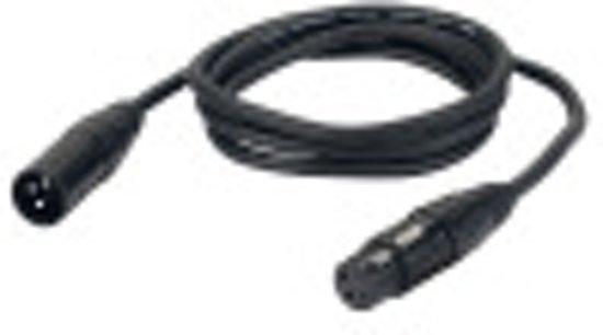 DAP-Audio FL013 XLR Microfoonkabel 3 Meter Zwart