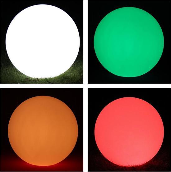 bol.com | LED bol ambiance verlichting 40 CM 16 kleuren RGB wit ...