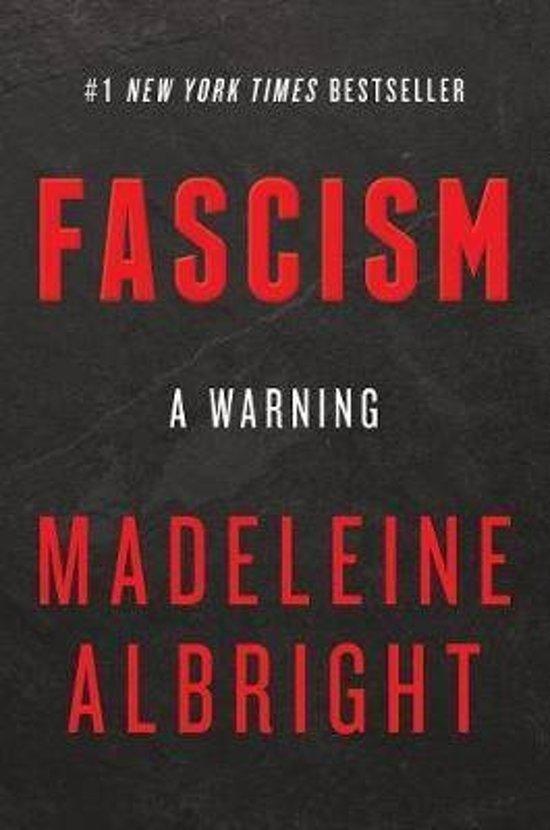 Boek cover Fascism van Madeleine Albright (Paperback)
