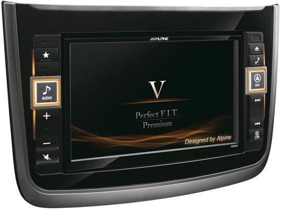 Alpine X800D-V Vast 8'' LCD Touchscreen 2900g Zwart navigator