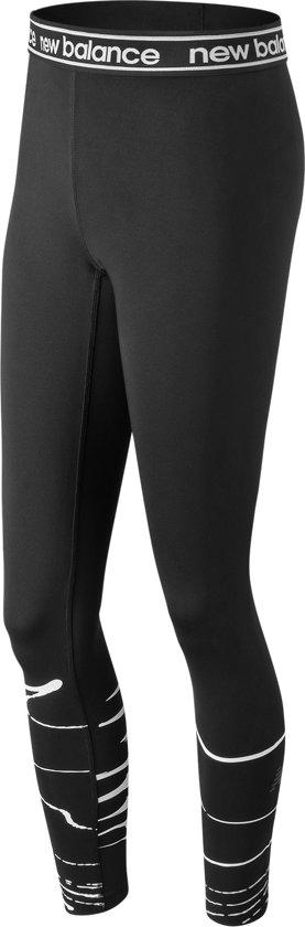 New Balance Printed Accelerate Tight Sportlegging Dames - Black