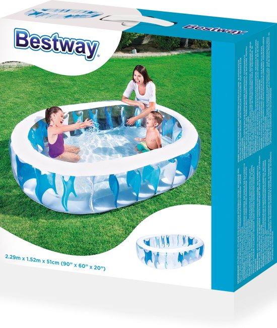 Bestway Zwembad ovaal 229x152x51 cm 54066