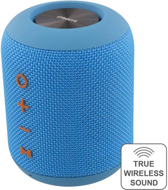 STREETZ CM758 Bluetooth speaker 10W - IPX5 Waterbestendig - 10W - Blauw