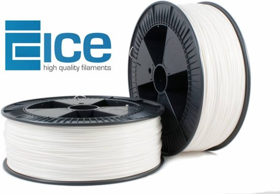 ICE Filaments PLA 'Wondrous White' - 2.3 kg
