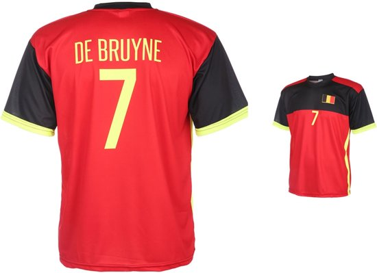 België Shirt De Bruyne Thuis 2016-2018-92