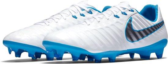 best loved bedb9 8c8f4 Nike Tiempo Legend 7 Pro FG Sportschoenen - Maat 43 - Mannen - witblauw