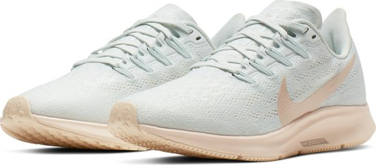 Nike Air Zoom Pegasus 36 Sportschoenen Dames - Ghost Aqua/Lt  Cream-Sail-Moon Particle