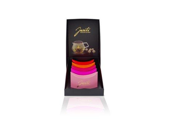 Jasili Theebloemen | Teaflower | Blooming Tea Cadeauverpakking