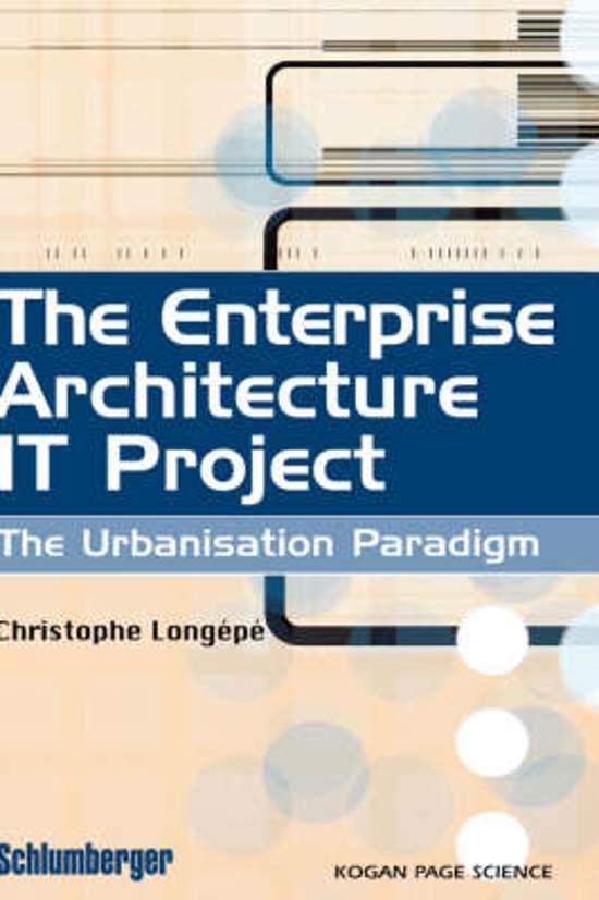 The Enterprise Architecture IT Project