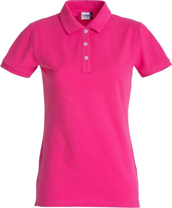 Clique Premium dames polo he. kersen s