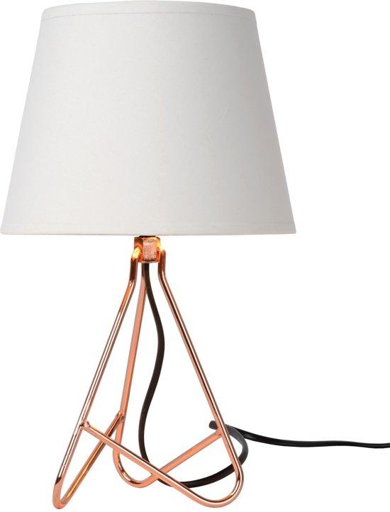 Lucide GITTA - Tafellamp - Ø 17 cm - Koper