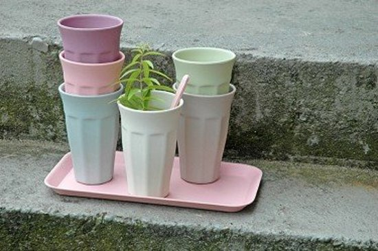 Zuperzozial Cupful Of Colour Bekers 0,4 L - Set van 6