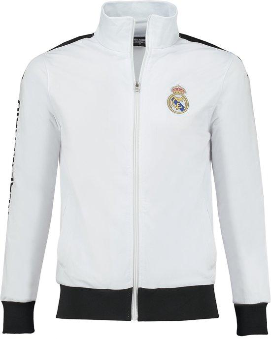 Real Madrid Trainingsjack Blanco Senior-L