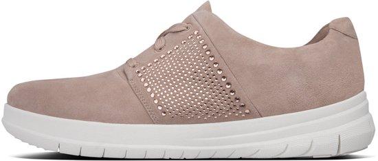 Sporty-Pop™ X Crystal Sneaker Suede - Mocha - 36