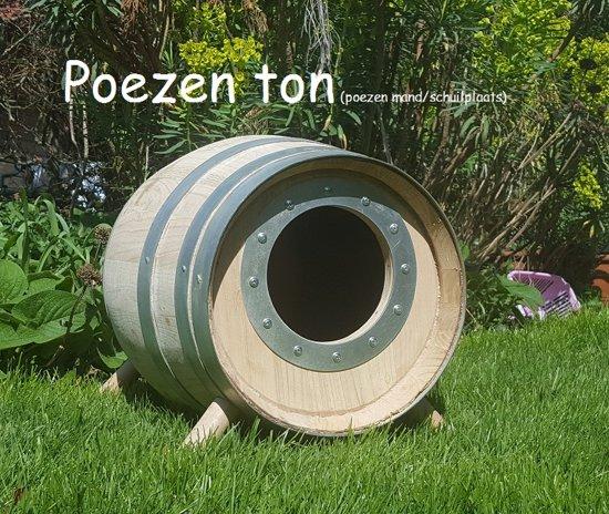 Poezen en Katten schuilton ( 30 Liter)