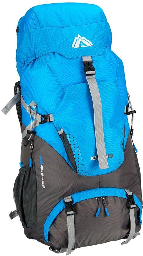 086970870b9 bol.com | Abbey Trekking Backpack - 60 liter - Blauw