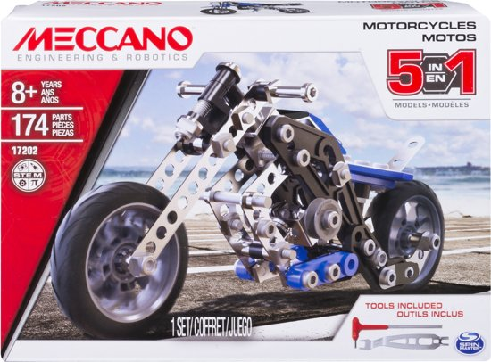 Meccano Motorfiets