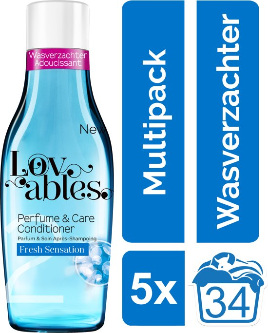 Lovables Conditioner - Fresh Sensation - Kwartaalbox - 170 wasbeurten - wasverzachter