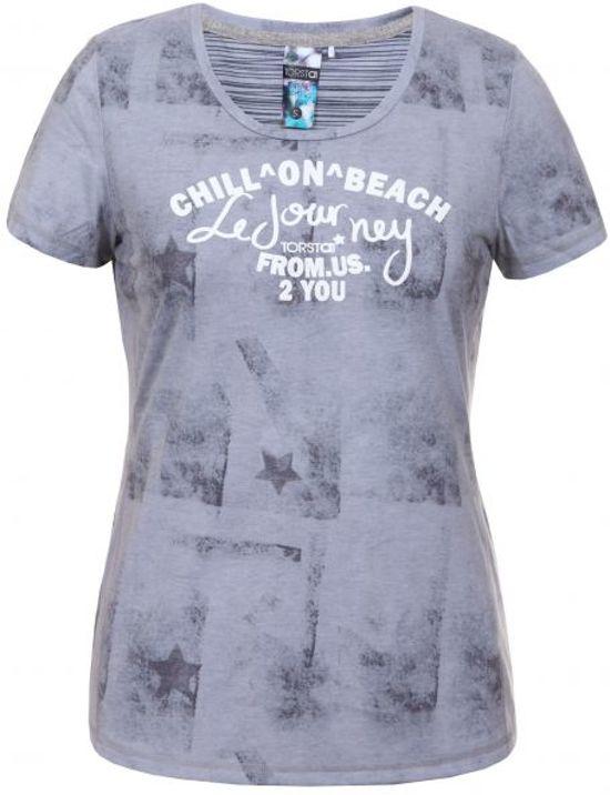 Grijs Amanda L Dames T shirt Torstai Maat WT6qHRTc
