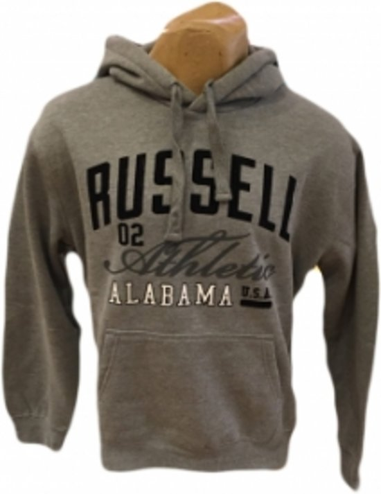 Sweater Hooded Grijs Russell Russell Russell Grijs Sweater Hooded Athletic Athletic Athletic VpSUMLzqG
