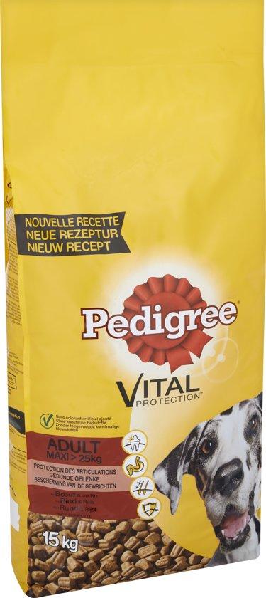 pedigree vital protection adult maxi rund hondenvoer 15 kg. Black Bedroom Furniture Sets. Home Design Ideas
