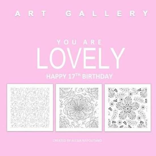 Lovely Happy 17th Birthday