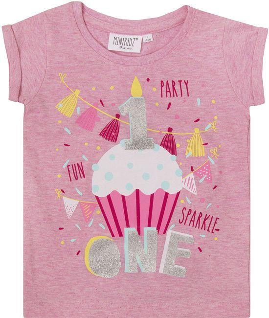 New bol.com | MINIKIDZ Verjaardag T-shirt met Leeftijd (1-6 Jaar) #OY24