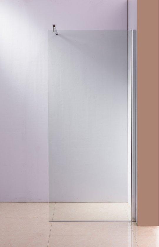 Douchewand 200 X 120.Clp Round Roestvrijstalen Douchewand Nano Glas Helder Glas 120 X 200 X 100 Cm