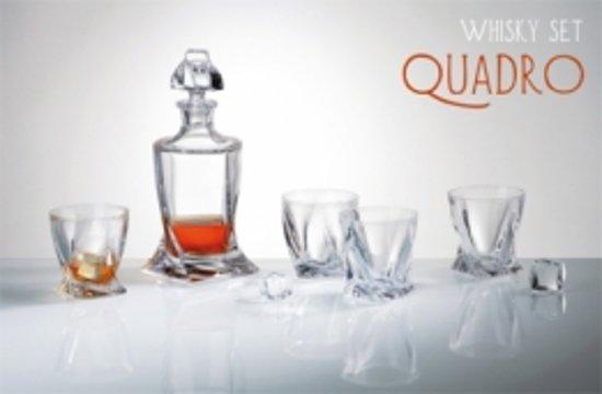 Whisky set Quadro