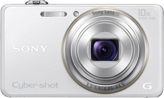 Sony Cybershot DSC-WX100 - Wit