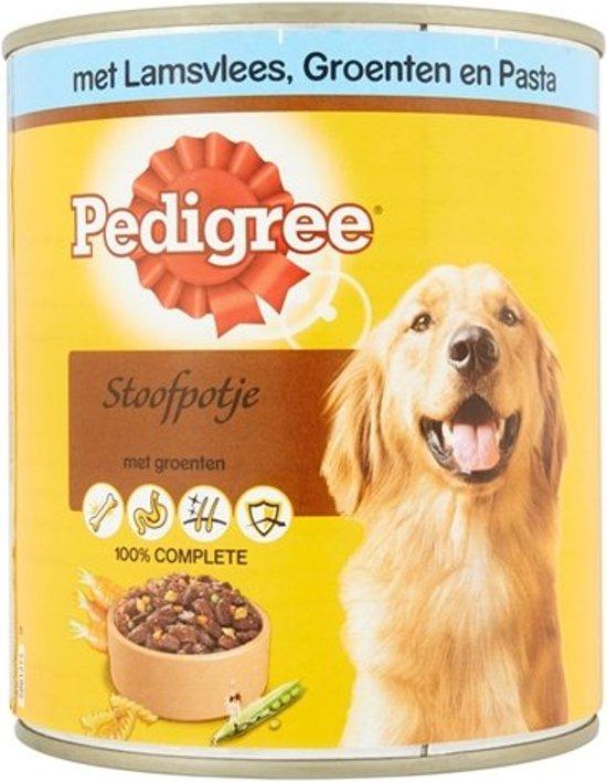 Pedigree Blik Hondenvoer - Lam/Groenten/Pasta Homestyle - 5 x 800 gram
