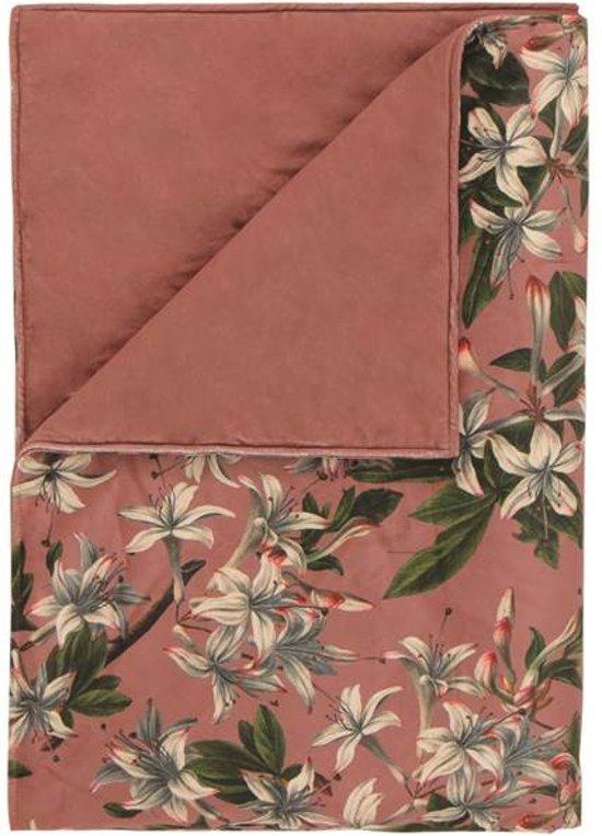 Essenza Lily Plaid - 135x170 cm - Dusty Rose