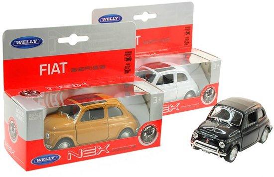 WELLY Fiat 500 classic in vensterdoos