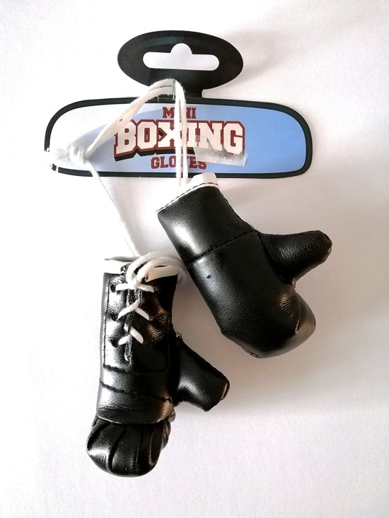 Mini Boxing gloves, boks handschoenen zwart