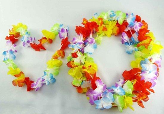 Hawaiislinger rainbow 90cm pak a 12st