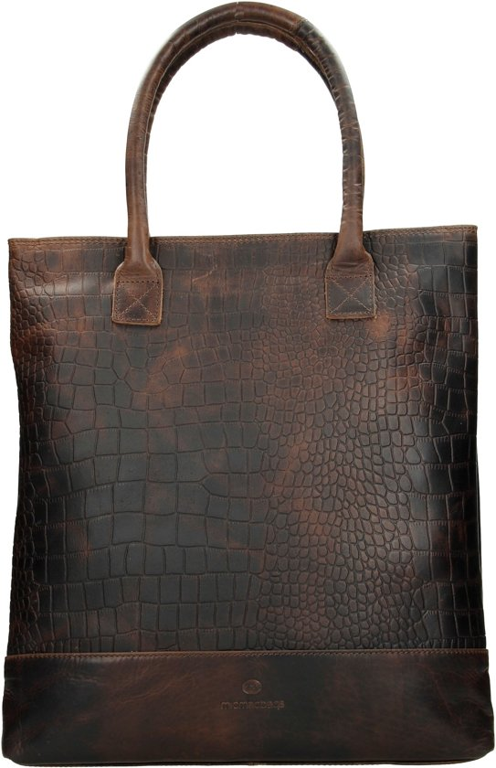 f3e5247c633 bol.com | Micmacbags Everglades - Shopper - Donkerbruin
