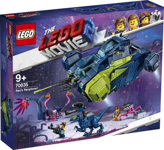 LEGO The Movie 2 Rex's Verkenner! - 70835