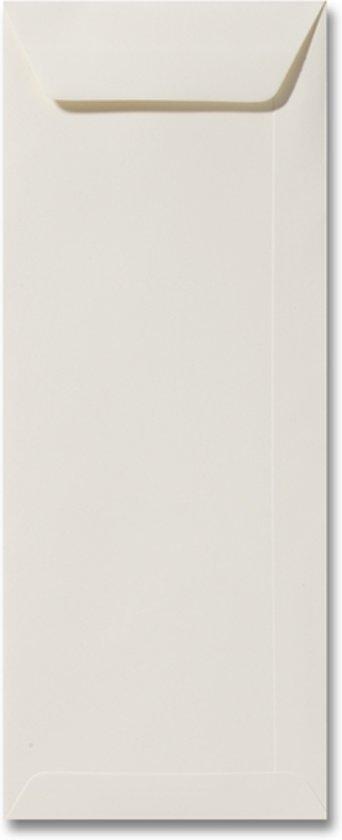 Envelop 12,5 x 31,2 Ivoor, 100 stuks
