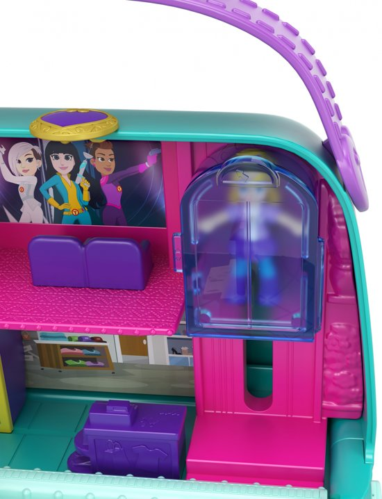 Polly Pocket Pocket World Shopping Mall - Speelfigurenset
