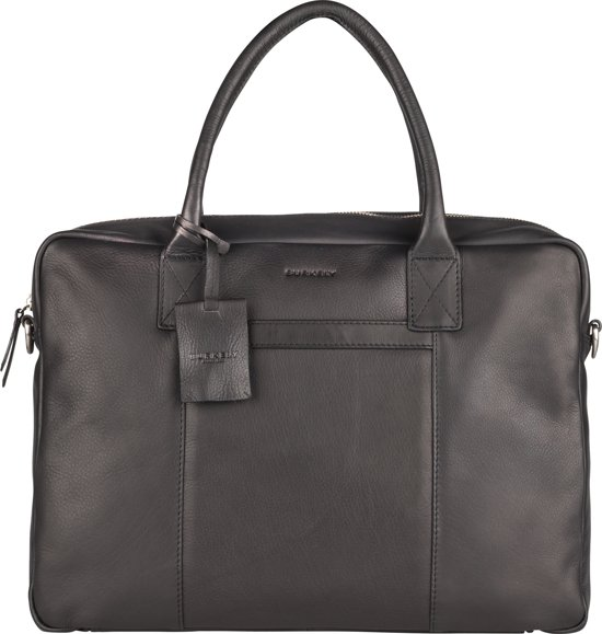 BURKELY by bol.com Workbag Roef - Schoudertas - Zwart