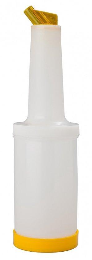 Fles Safe & Pour geel