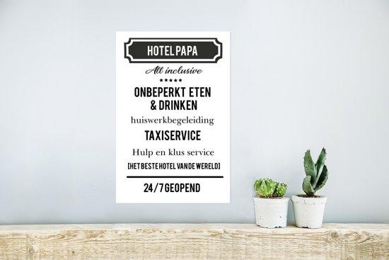 Bolcom Origineel Cadeau Voor Vader Hotel Papa Cadeau